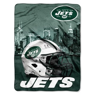 NFL 071 Jets Heritage Silk Touch Throw