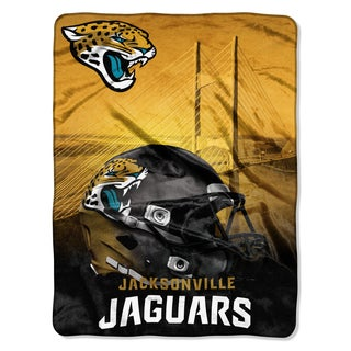 NFL 071 Jaguars Heritage Silk Touch Throw