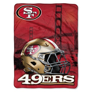 NFL 071 49ers Heritage Silk Touch Throw