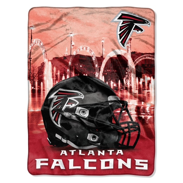 NFL 071 Falcons Heritage Silk Touch Throw
