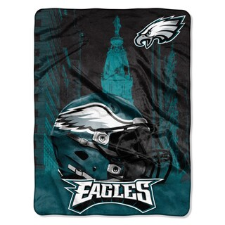 NFL 071 Eagles Heritage Silk Touch Throw