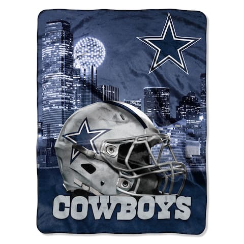 NFL 071 Cowboys Heritage Silk Touch Throw - Multi