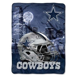 NFL 071 Cowboys Heritage Silk Touch Throw