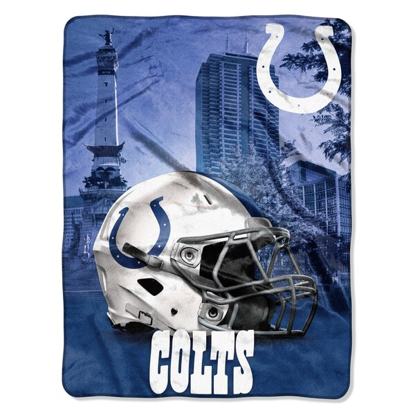 NFL 071 Colts Heritage Silk Touch Throw