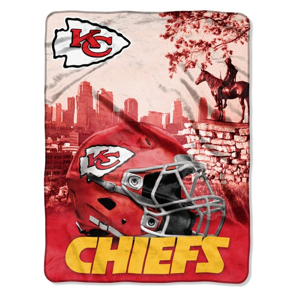 efbd18d5 NFL 071 Chiefs Heritage Silk Touch Throw