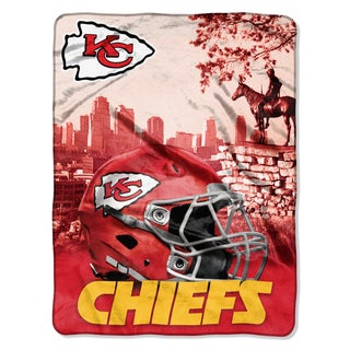 NFL 071 Chiefs Heritage Silk Touch Throw