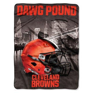 NFL 071 Browns Heritage Silk Touch Throw