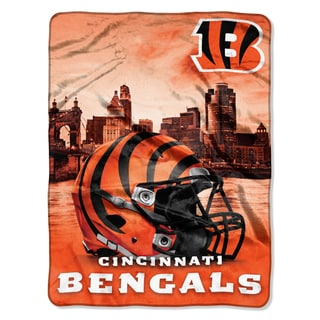 NFL 071 Bengals Heritage Silk Touch Throw