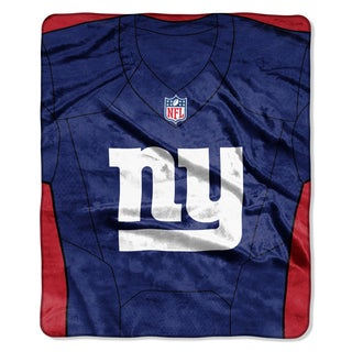 ThrowNFL 07080 NY Giants Jersey Raschel