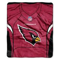 NFL 07080 Cardinals Jersey Raschel Throw