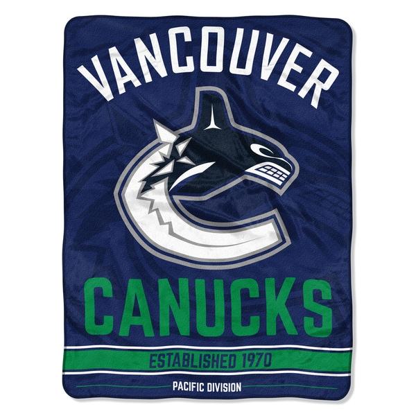 NHL 659 Canucks Breakaway Micro Throw