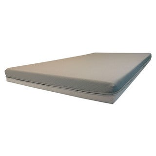 Long Haul Dual Sided Economical Medium-Firm 5-inch Foam Truck Mattress (Many Sizes Available) - White (More options available)