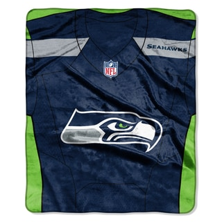 NFL 07080 Seahawks Jersey Raschel Throw