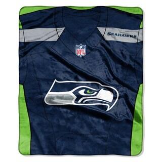 NFL 07080 Seahawks Jersey Raschel Throw
