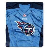 NFL 07080 Titans Jersey Raschel Throw