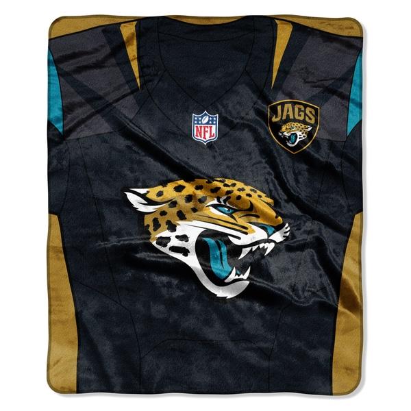 NFL 07080 Jaguars Jersey Raschel Throw