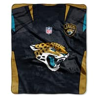 NFL 07080 Jaguars Jersey Raschel Throw