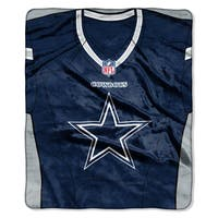 NFL 07080 Cowboys Jersey Raschel Throw