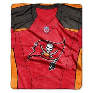 NFL 07080 Bucs Jersey Raschel Throw