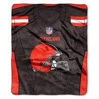 NFL 07080 Browns Jersey Raschel Throw