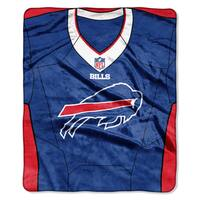 NFL 07080 Bills Jersey Raschel Throw
