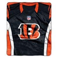 NFL 07080 Bengals Jersey Raschel Throw