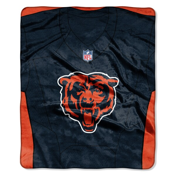 NFL 07080 Bears Jersey Raschel Throw