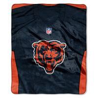 NFL 07080 Bears Jersey Raschel Throw