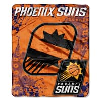 NBA 702 Suns Dropdown Raschel Throw
