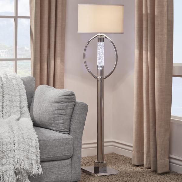 Lyra Chrome LED Starburst Floor Lamp by iNSPIRE Q Bold