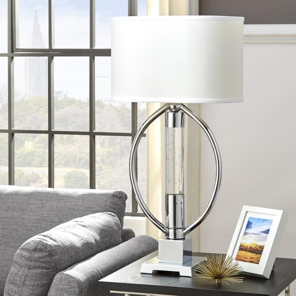 Lyra Chrome LED Starburst Table Lamp by iNSPIRE Q Bold