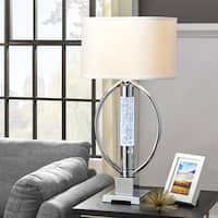 Lyra Chrome LED Starburst Table Lamp by iNSPIRE Q Bold