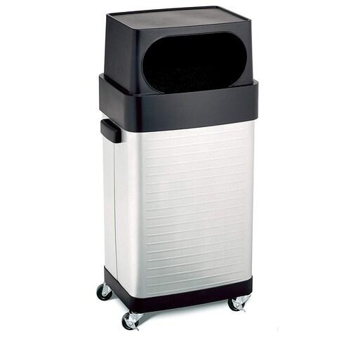 Seville Classics 17-Gallon UltraHD Wheeled Trash Bin