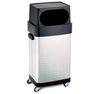 Seville Classics 17-Gallon UltraHD Wheeled Trash Bin