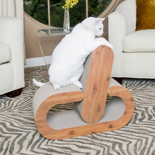 2-Piece Cat Scratcher Lounge with Catnip