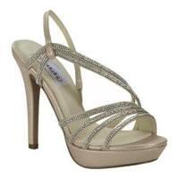 Women's Dyeables Dahlia Platform Sandal Nude Shimmer