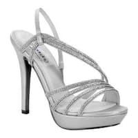 Women's Dyeables Dahlia Platform Sandal Silver Shimmer