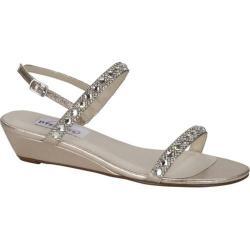 Women's Dyeables Jasmine Wedge Sandal Champagne Shimmer