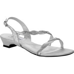 Women's Dyeables Jasper Slingback Sandal Silver Shimmer