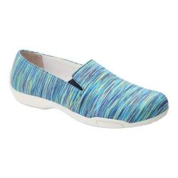 Women's Ros Hommerson Carmela Slip-On Shoe Blue Multi Textile