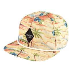 San Diego Hat Company All Over Print Flat Bill Cap SLW1009 Multi