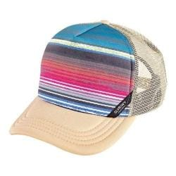 San Diego Hat Company Foam Back Sublimated Stripe Crown Cap SLW1000 Beige