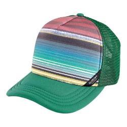 San Diego Hat Company Foam Back Sublimated Stripe Crown Cap SLW1000 Green