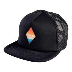 San Diego Hat Company Foam Back Trucker Hat w/ Sublimated Patch SLW1003 Black