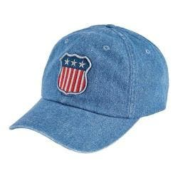 San Diego Hat Company Unstructured/Curved Brim Cap with Patch SLW1006 Denim|https://ak1.ostkcdn.com/images/products/153/663/P20555976.jpg?impolicy=medium