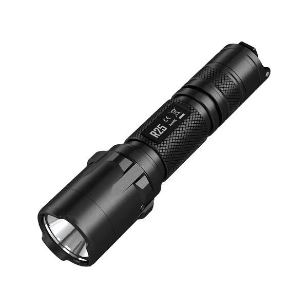 Nitecore R25 Rechargeable Tactical Flashlight Black