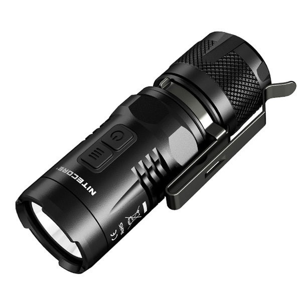 Nitecore EC11 Flashlight Black
