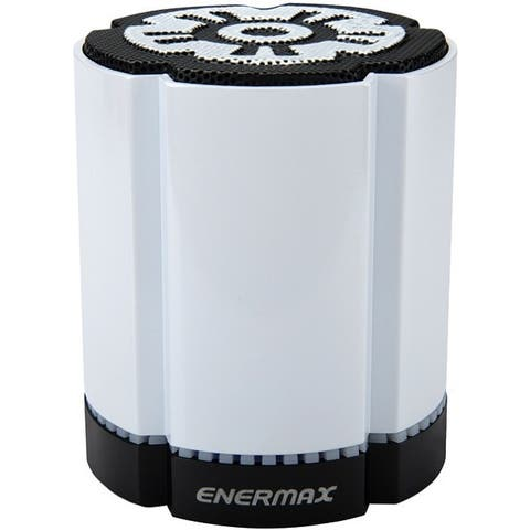 Enermax STEREOTWIN EAS02S-DW Bluetooth Speaker System - 4 W RMS - White