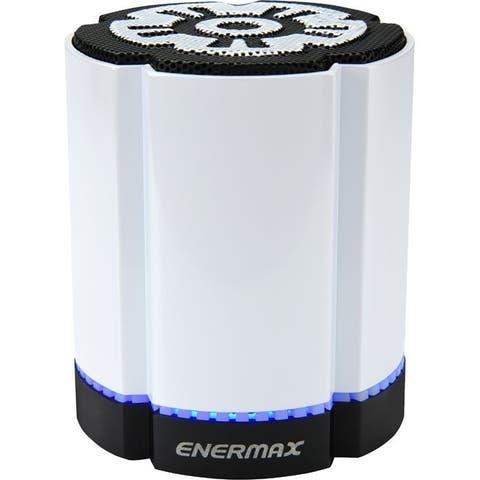 Enermax STEREOSGL EAS02S-W Bluetooth Speaker System - 4 W RMS - White
