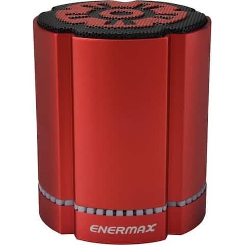 Enermax STEREOSGL EAS02S-R Bluetooth Speaker System - 4 W RMS - Red
